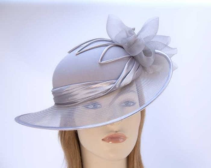 Grey Mother of the Bride hat Fascinators.com.au