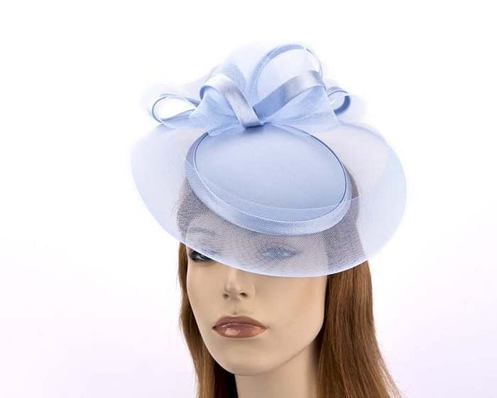 Blue Cocktail hats K4262PB Fascinators.com.au