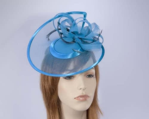 Turquoise cocktail hats K4806TB Fascinators.com.au