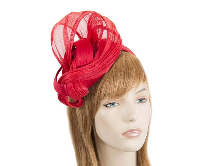 Red racing fascinator by Fillies Collection Fascinators.com.au