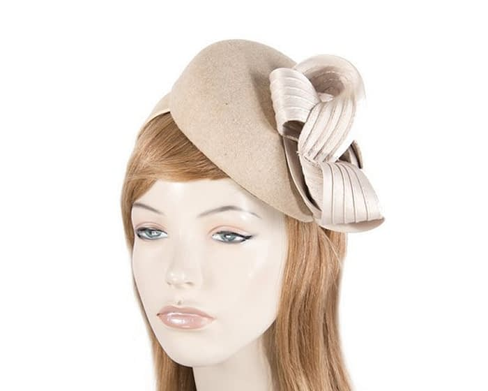 Nude racing fascinator by Fillies Collection Fascinators.com.au