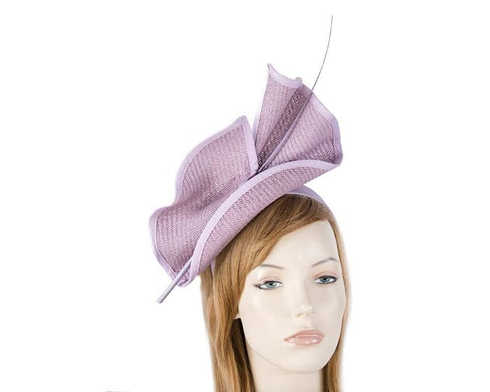 Lilac Australian Made racing fascinator by Max Alexander MA686LC Fascinators.com.au