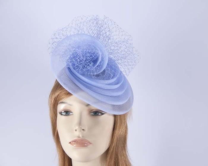 Light blue cocktail hats K4797LB Fascinators.com.au