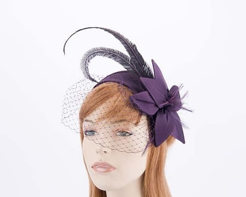 Violet fascinators K4799VV Fascinators.com.au