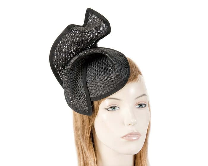 Black fascinator MA564B Fascinators.com.au
