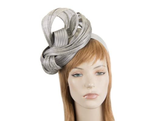 Silver racing fascinator by Fillies Collection Fascinators.com.au