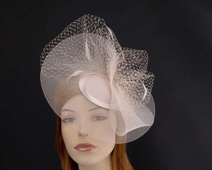 Nude mother of the bride hat Fascinators.com.au