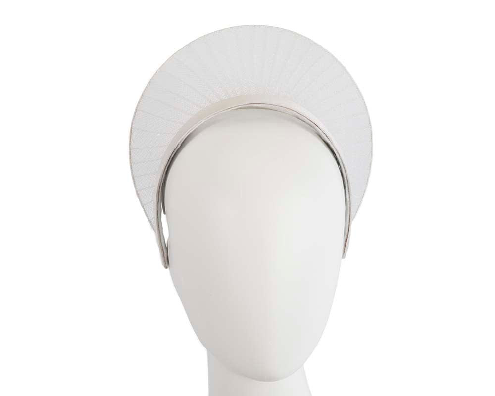 Limited edition ivory crown fascinator
