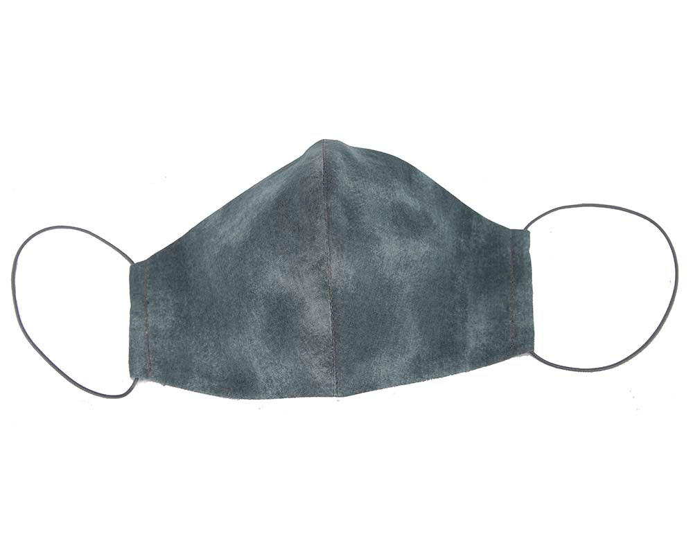 Comfortable re-usable cotton face mask with shades of pastel