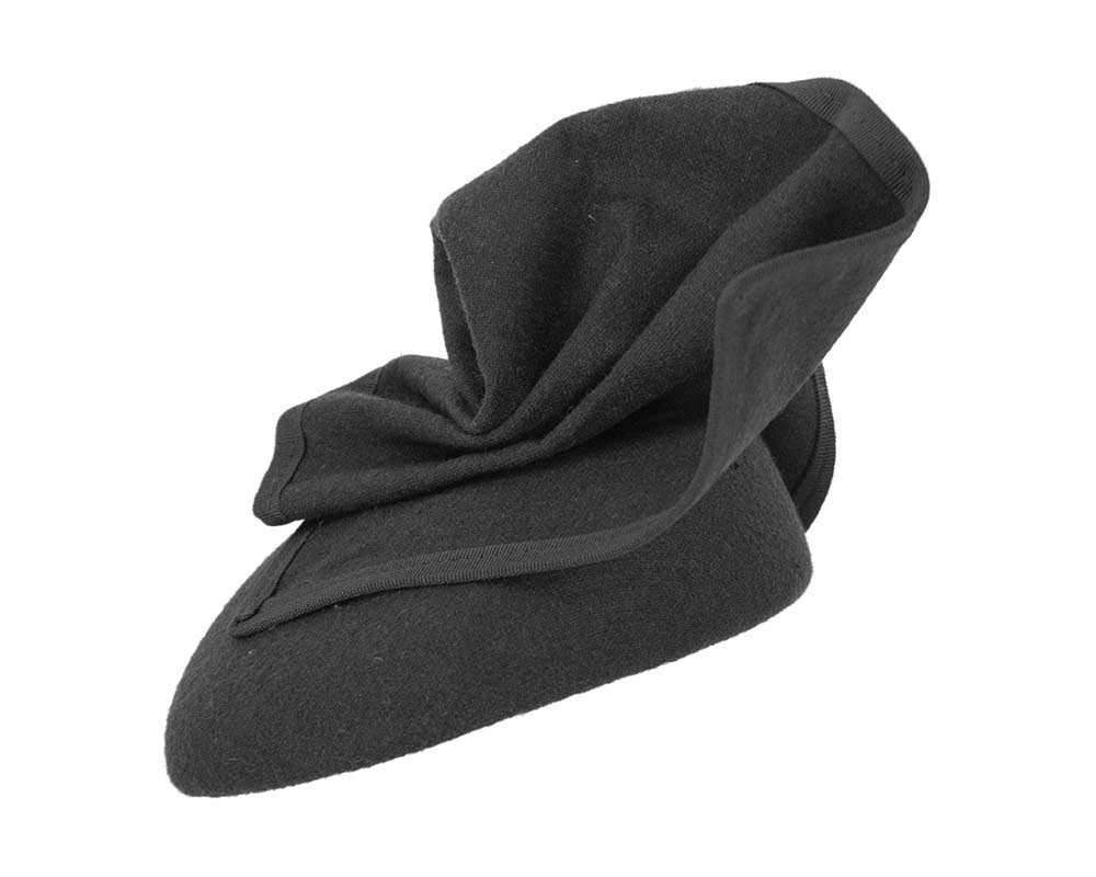 Black pillbox hat for winter autumn racing — buy online in Australia F540B
