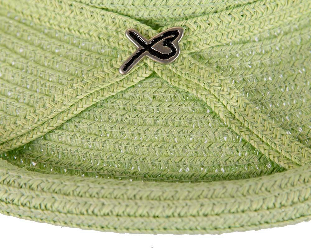 Soft green ladies summer casual beach hat