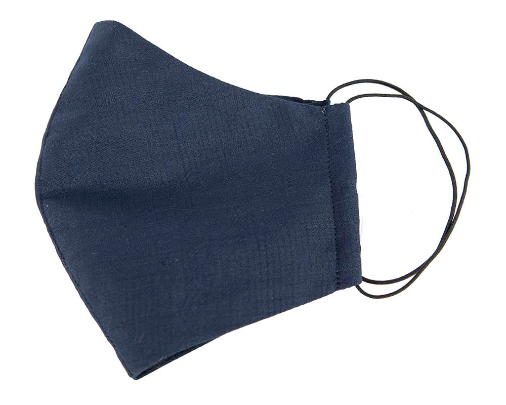 Comfortable re-usable navy face mask