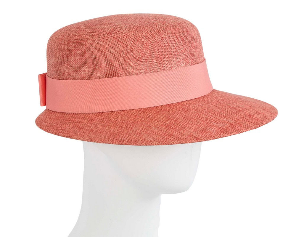 Orange ladies hat by Max Alexander