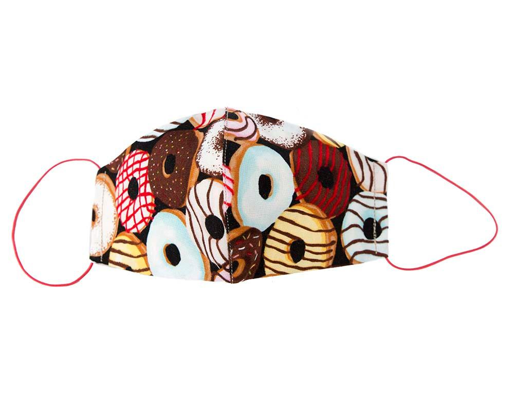 Comfortable re-usable cotton face mask doughnuts
