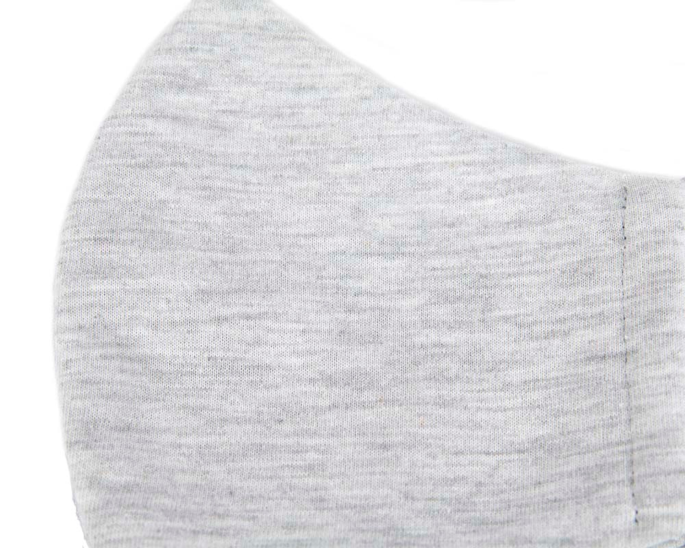 Comfortable re-usable cotton jersey face mask