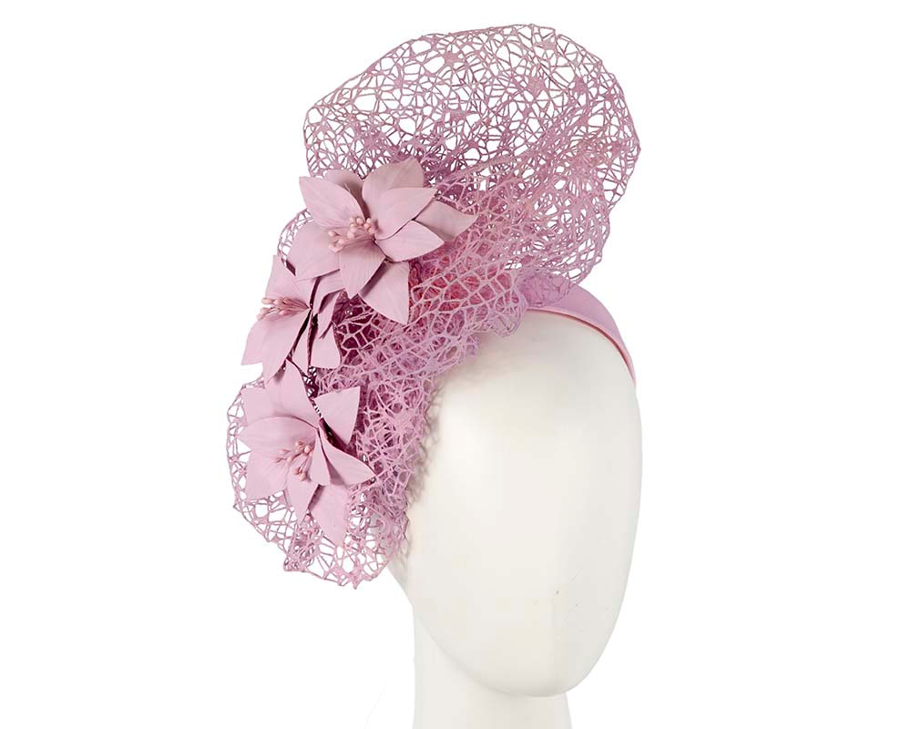 Staggering lilac racing fascinator by Fillies Collection