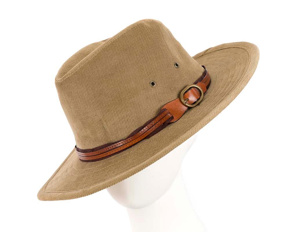 Sand corduroy Sheriff's Hat M129S