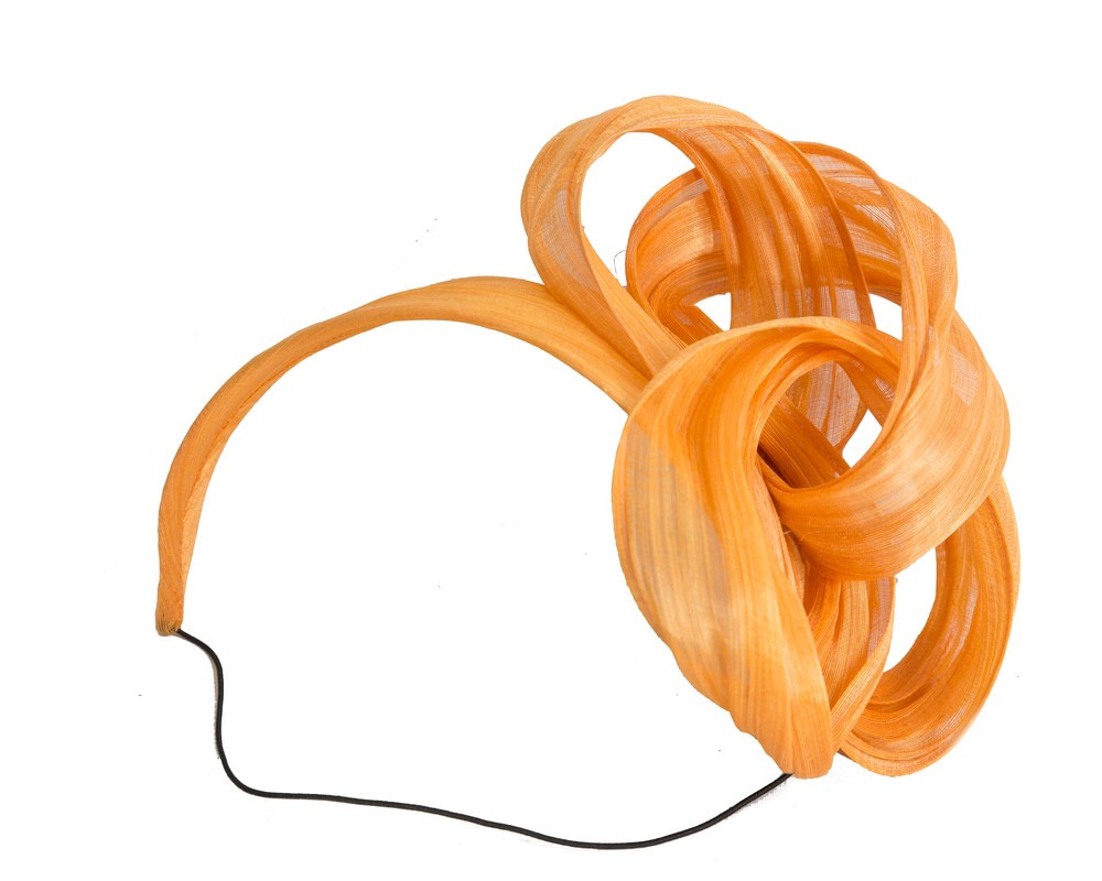 Orange retro headband by Fillies Collection