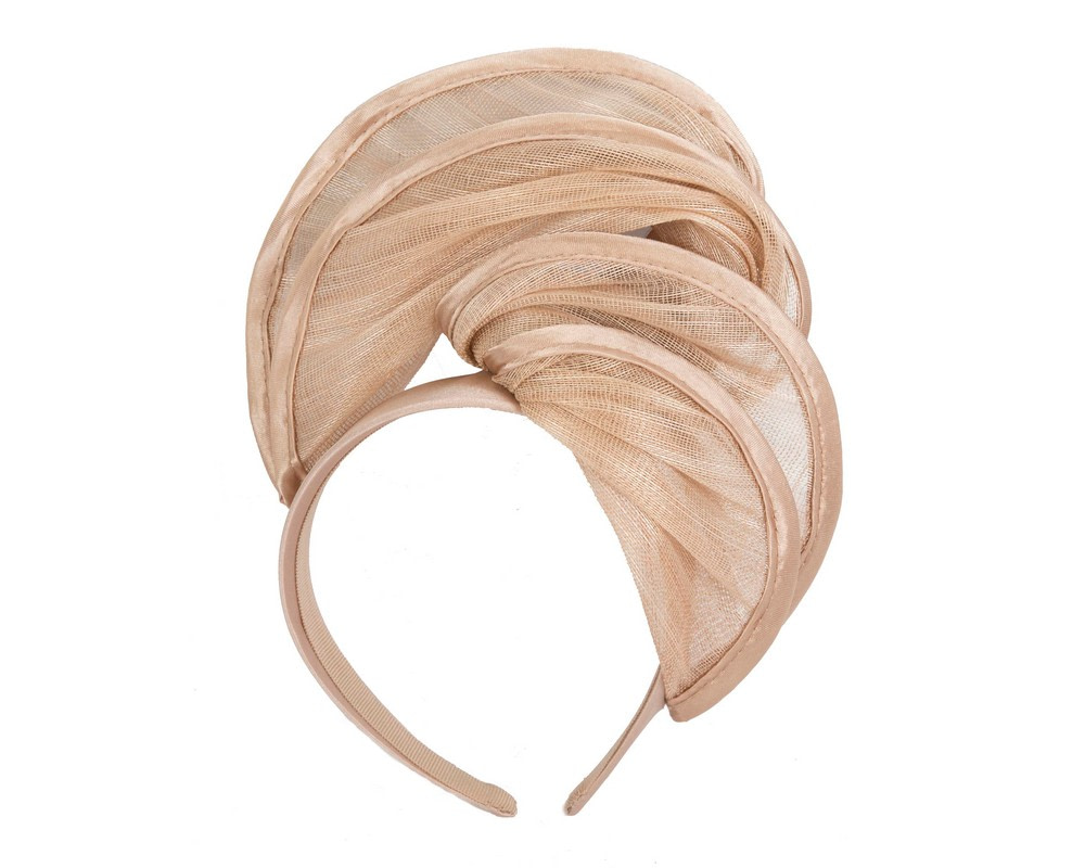 Gold headband racing fascinator by Fillies Collection