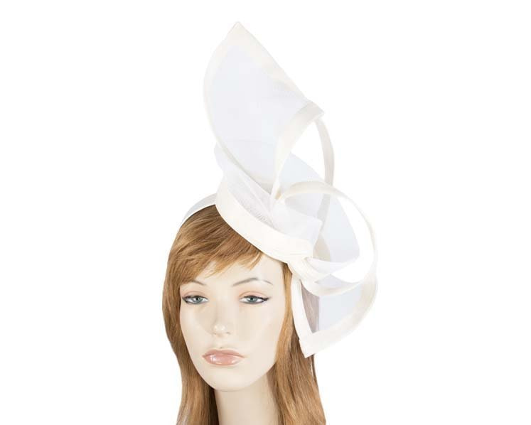 Cream fascinator for Melbourne Cup Ascot Kentucky Derby buy online S107C