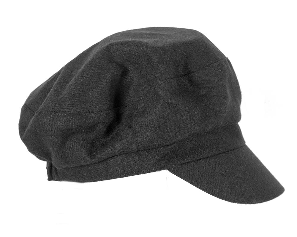 Black ladies casual newsboy cap hat