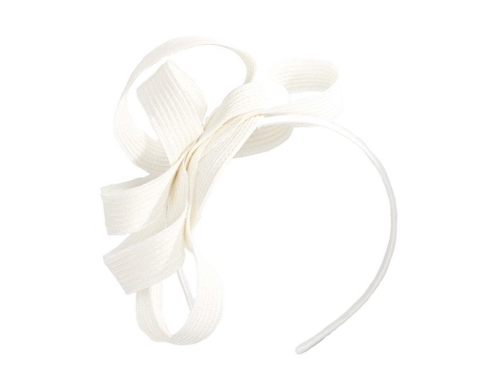 Ivory loops on the headband