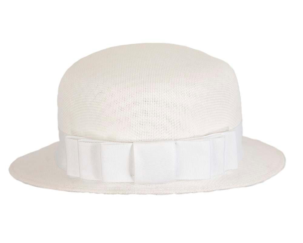 White ladies hat by Max Alexander