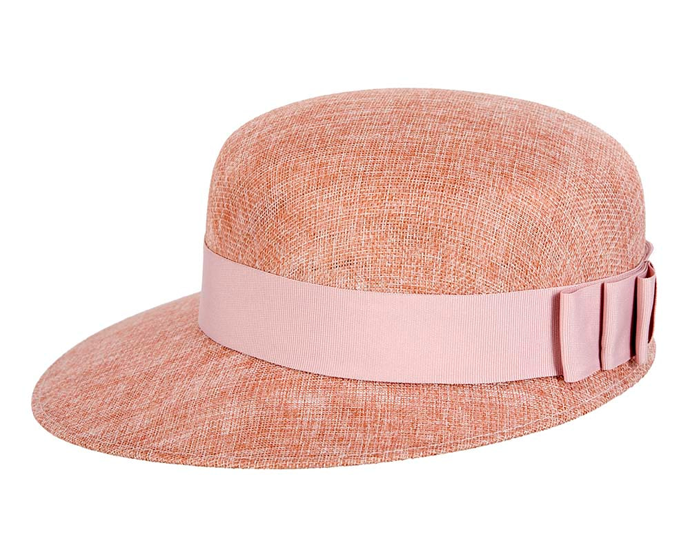 Dusty Pink ladies hat by Max Alexander