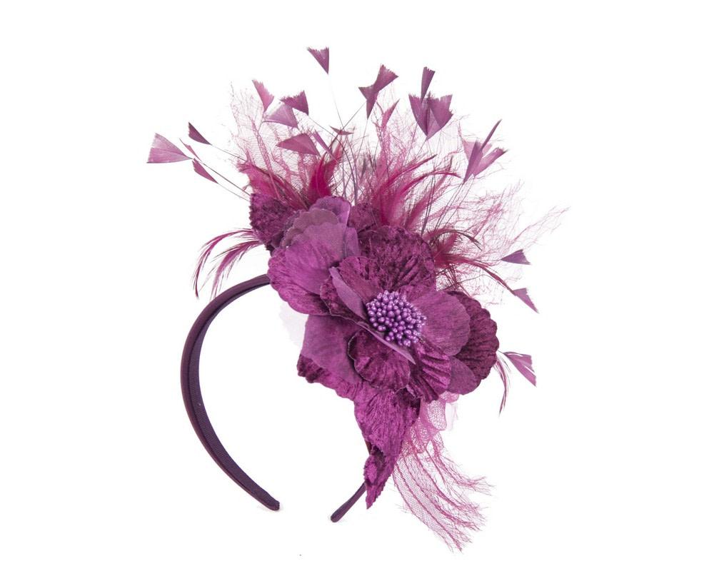 Wine designers flower fascinator