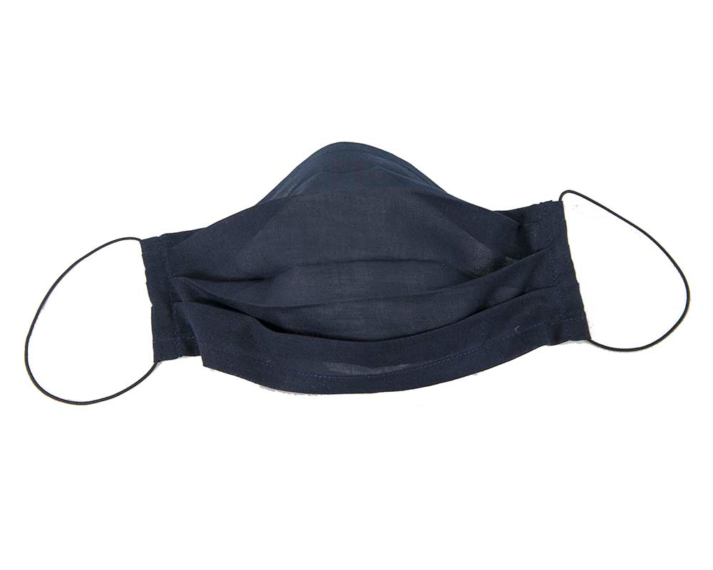 Very thin SINGLE layer cotton voile face mask