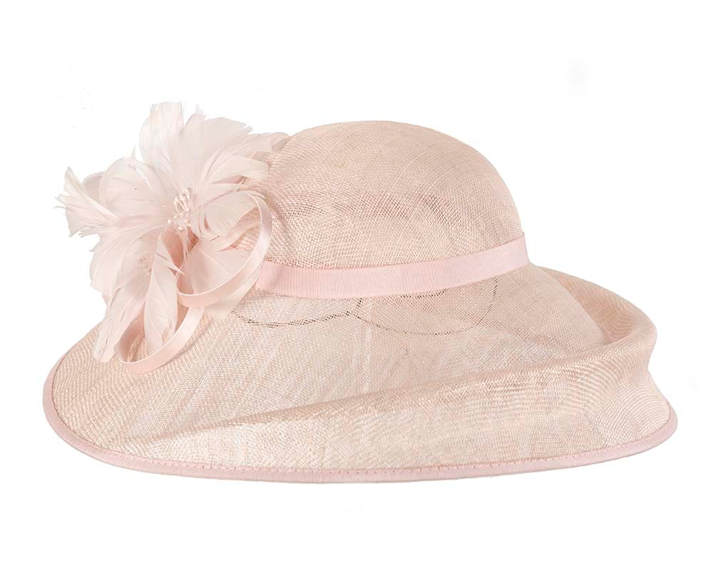 Bespoke Pink Ladies Fashion Racing Hat by Cupids Millinery