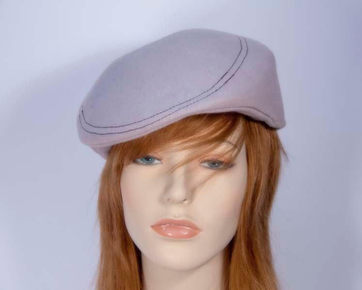 Light grey fashion felt beret hat buy online in Australia J103LG