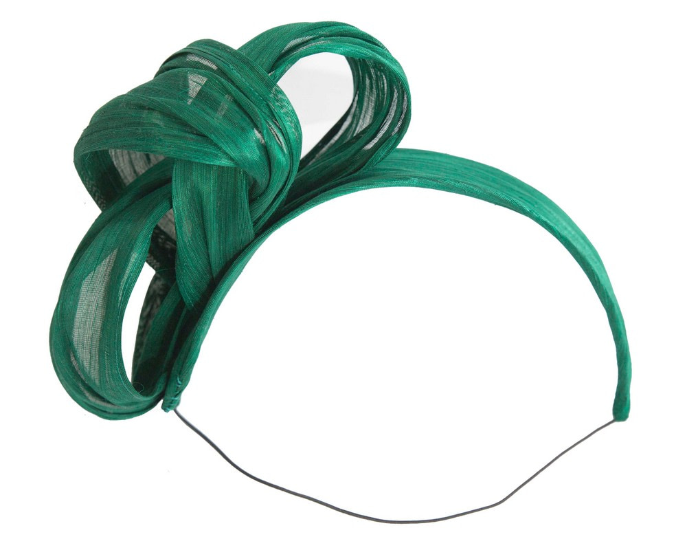 Green retro headband by Fillies Collection