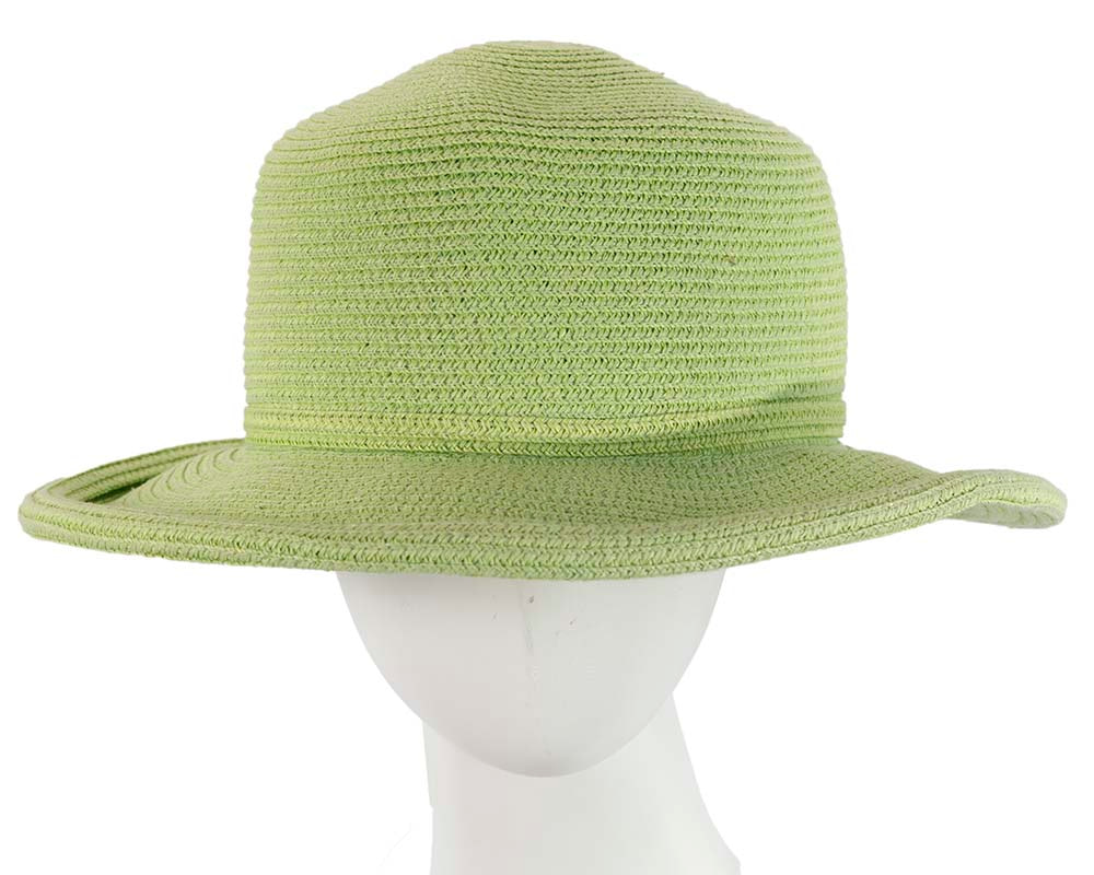 Soft green ladies summer casual beach hat
