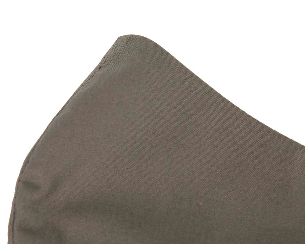 Comfortable re-usable khaki cotton face mask