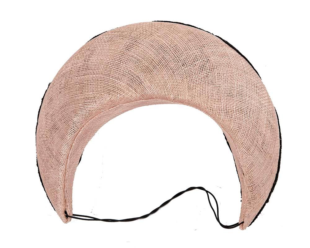 Bespoke pink headband racing fascinator by Cupids Millinery