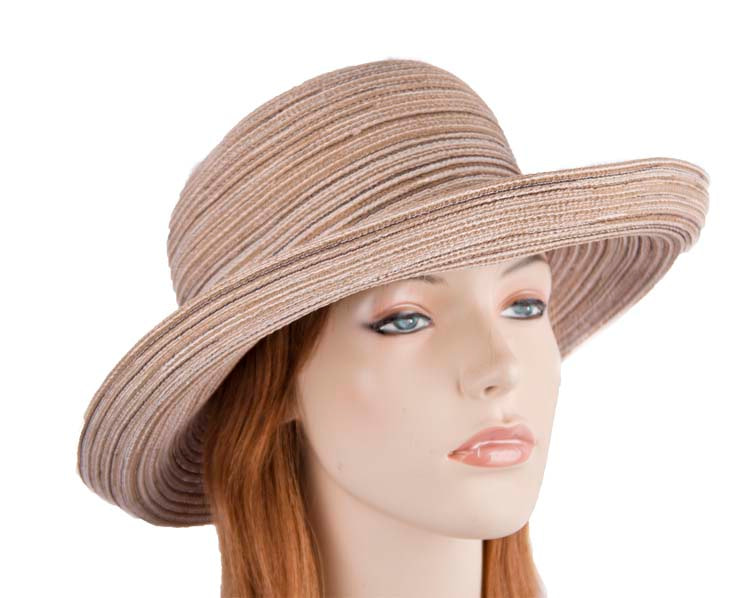 Camel ladies summer beach hat R38C