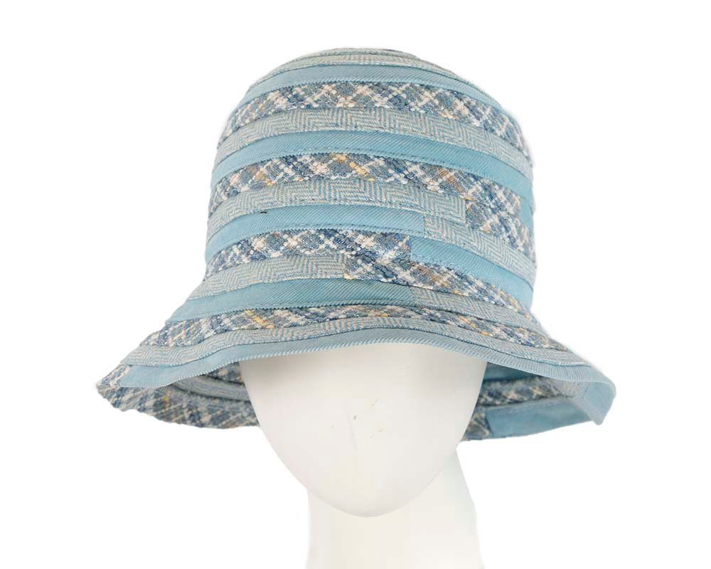 Blue ladies casual bucket hat
