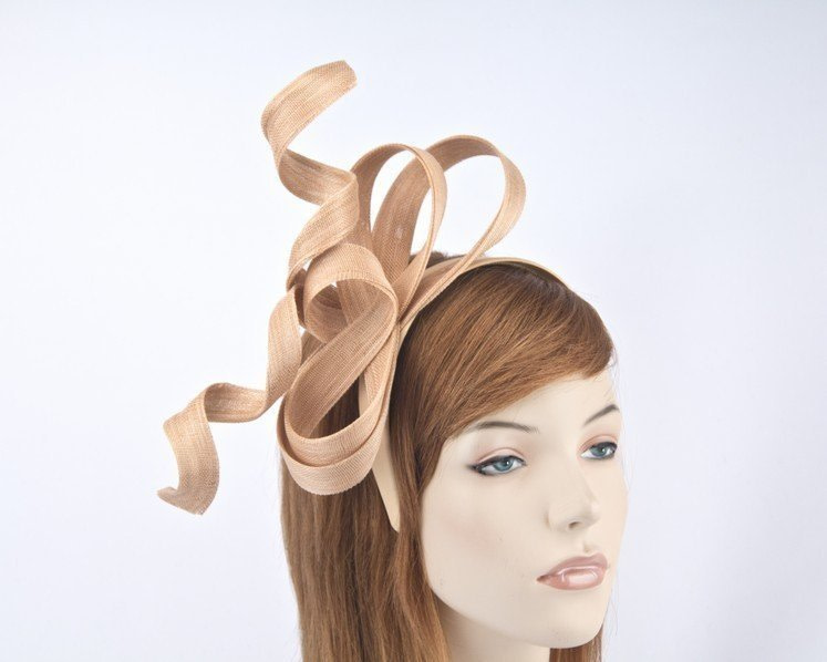Exclusive nude fascinator by Fillies Collection S169NU