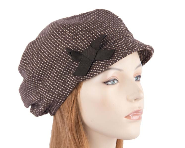 Ladies winter fashion newsboy hat Max Alexander J225