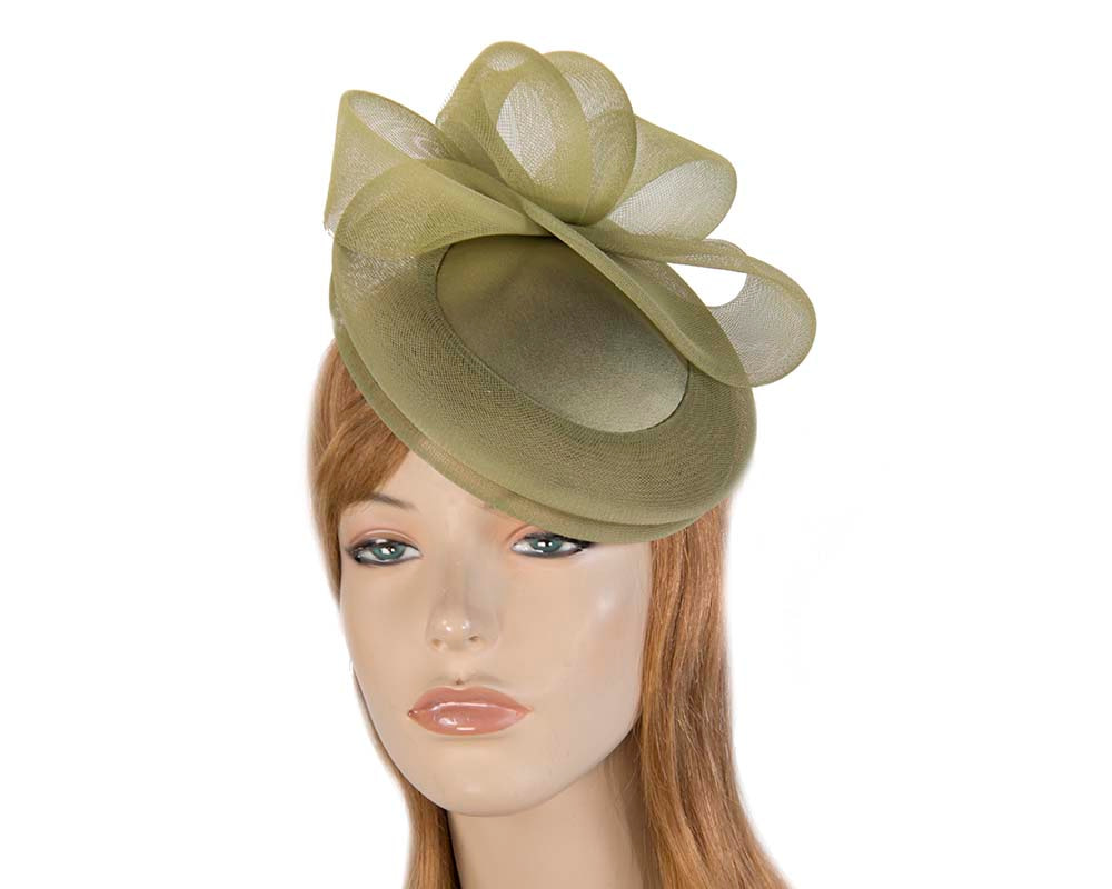Olive Custom Made Cocktail Hat