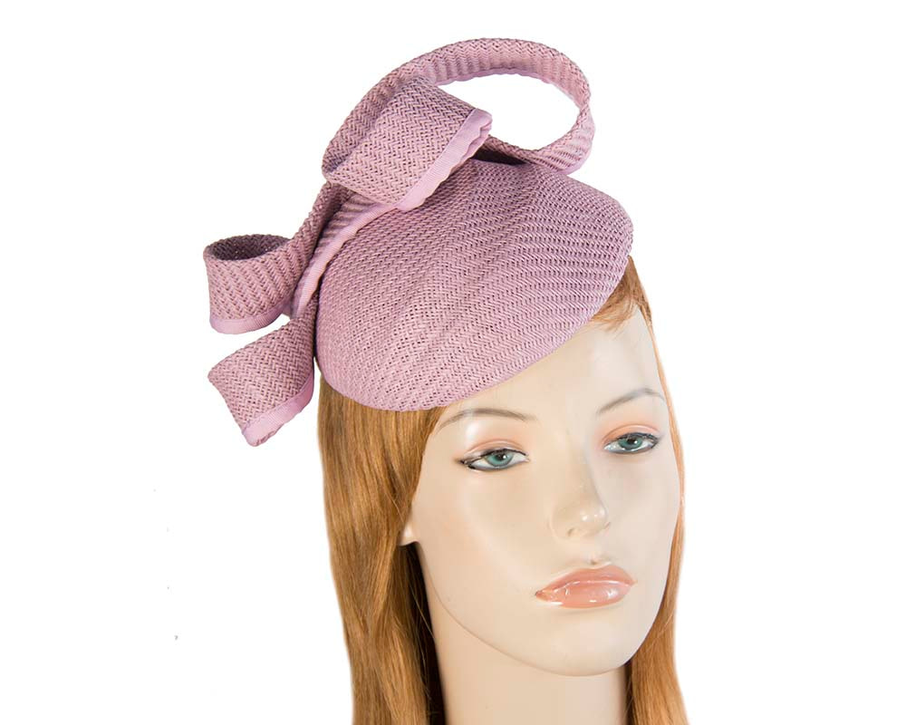 Lilac pillbox fascinator by Max Alexander