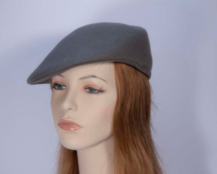 Grey fashion felt beret hat buy online in Australia J103G