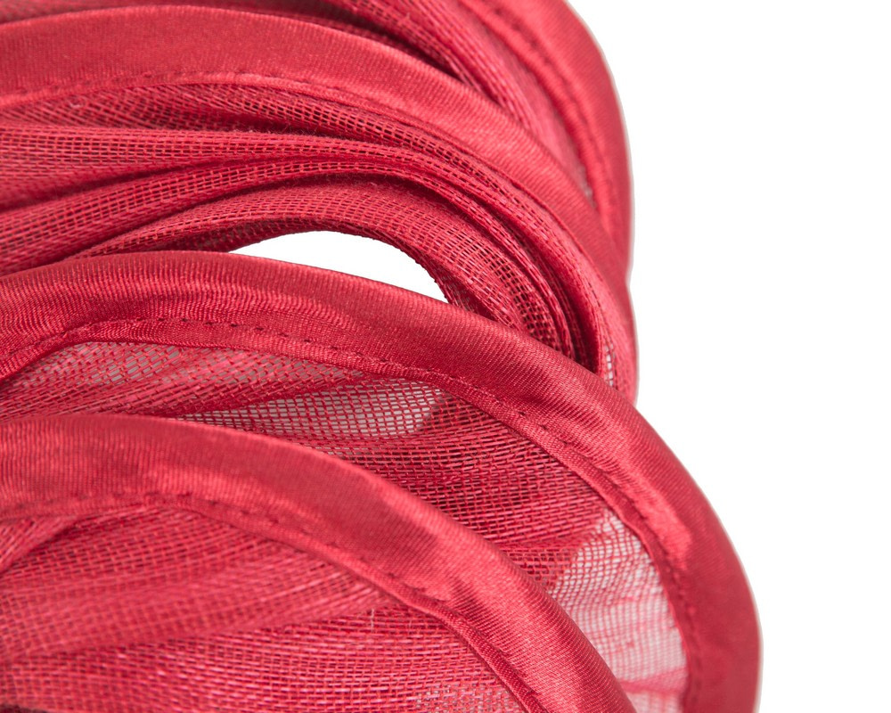Red headband racing fascinator by Fillies Collection