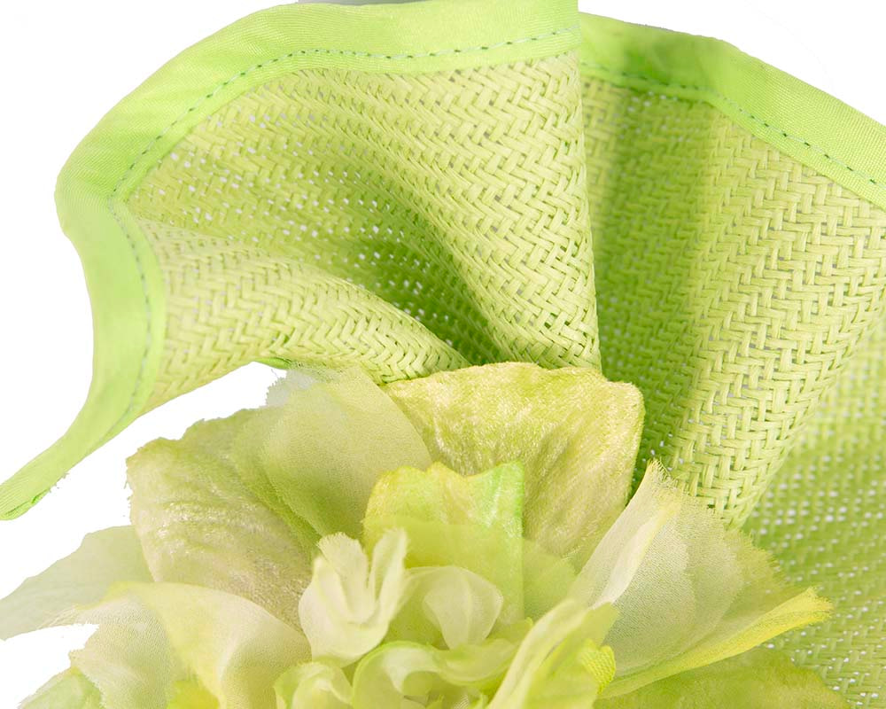 Lime Melbourne Cup races fascinator by Fillies Collection