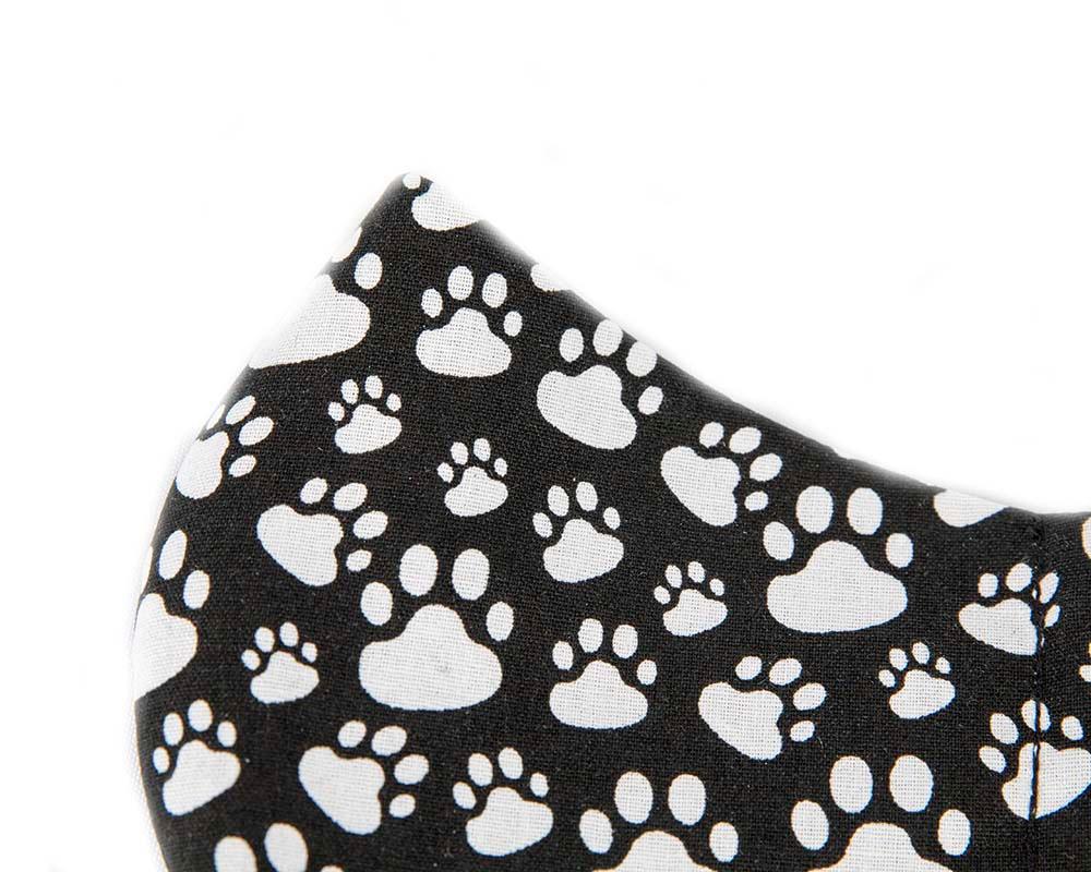 Comfortable re-usable cotton face mask animal paws
