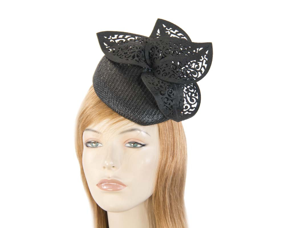 Black laser cut fascinator
