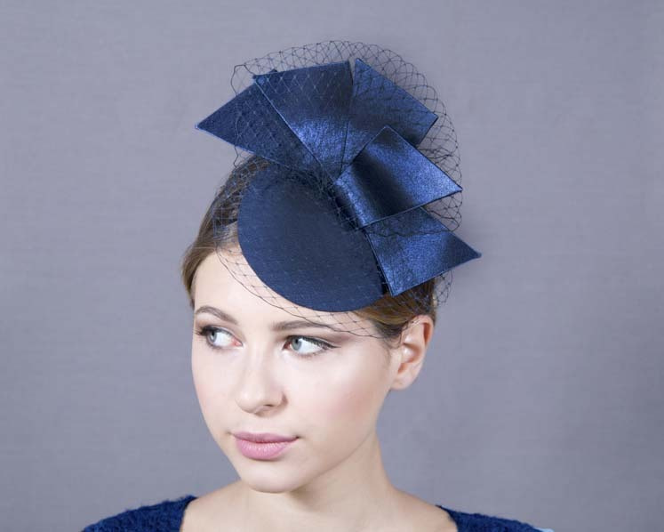 Custom made pillbox fascinator