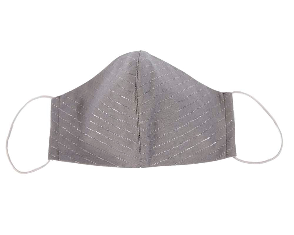 Comfortable re-usable grey face mask