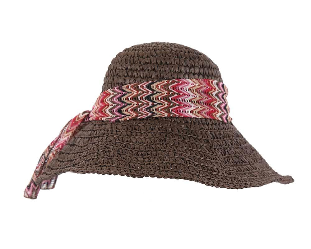 Ladies summer beach hat BD28